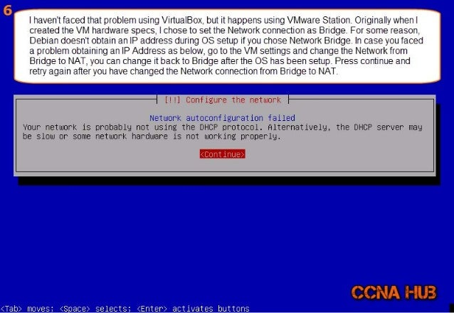 la);   |  haven't faced that problem using VirtualBox,  but it happens using VMware Station.  Originally whenl created the...