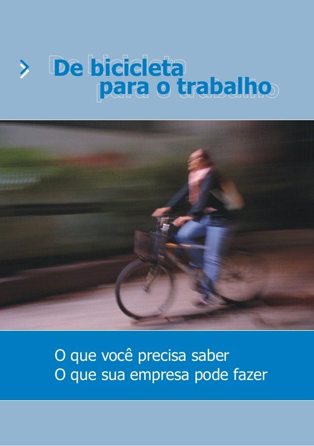 Guia: De Bicicleta para o Trabalho