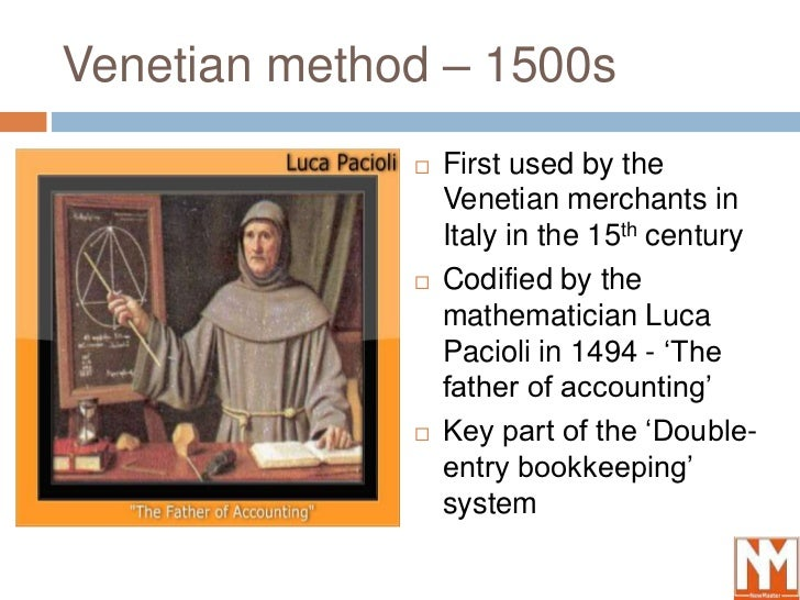 Debits and credits in accounting - History and definition