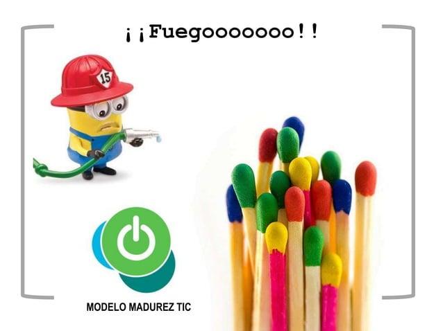 ¡¡Fuegooooooo!! MODELO MADUREZ TIC