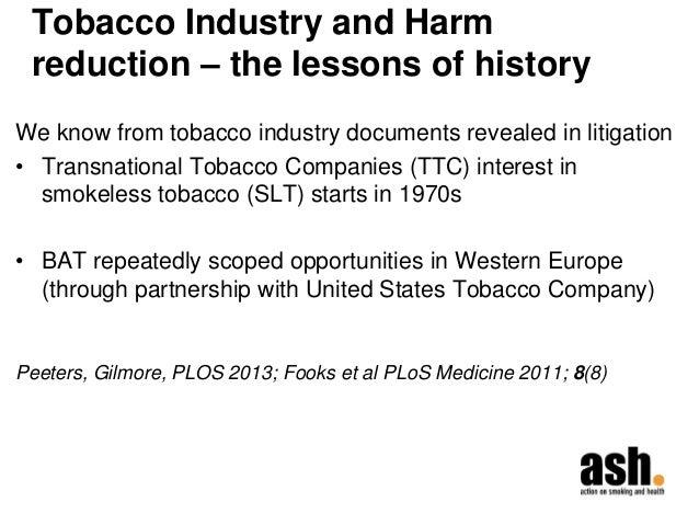 Tobacco Master Settlement Agreement
