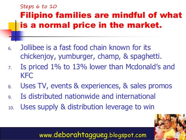 Mktg Plan for Jollibee Essay