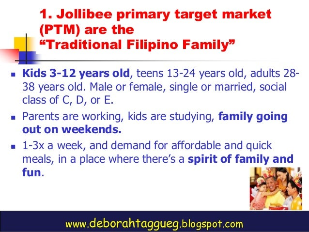 marketing planning jollibee identify a