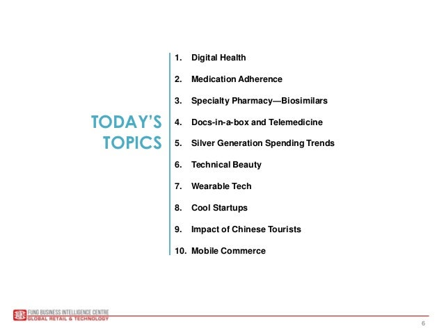 deborah weinswig s digital health presentation for nacds aug   technology trends 4 6 today s topics