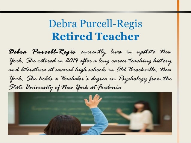 Debra Purcell - Regis Influencing Young Minds