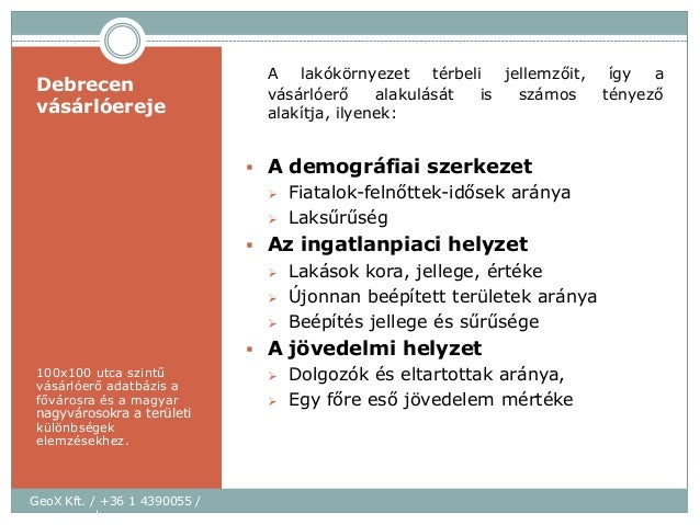 Debrecen Terkep Vasarloero Adatbazis 100x100