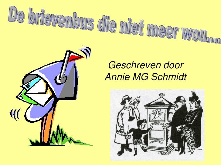 Geschreven door Annie MG Schmidt