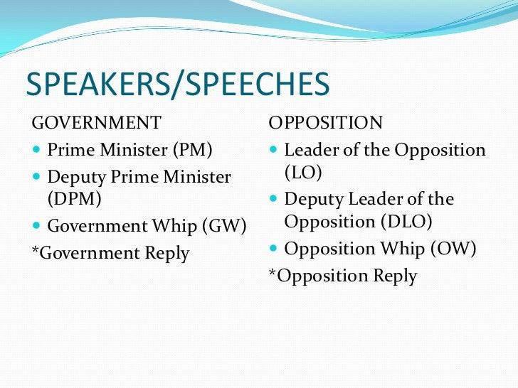 first speaker debate template - debate basics