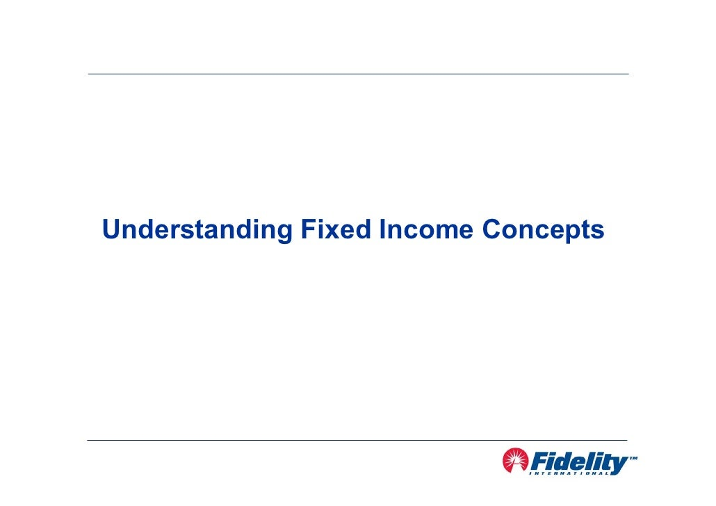 Understanding Fixed Income Concepts