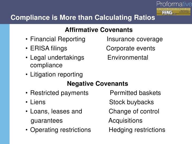 Best Practices In Debt Covenant Management Compliance