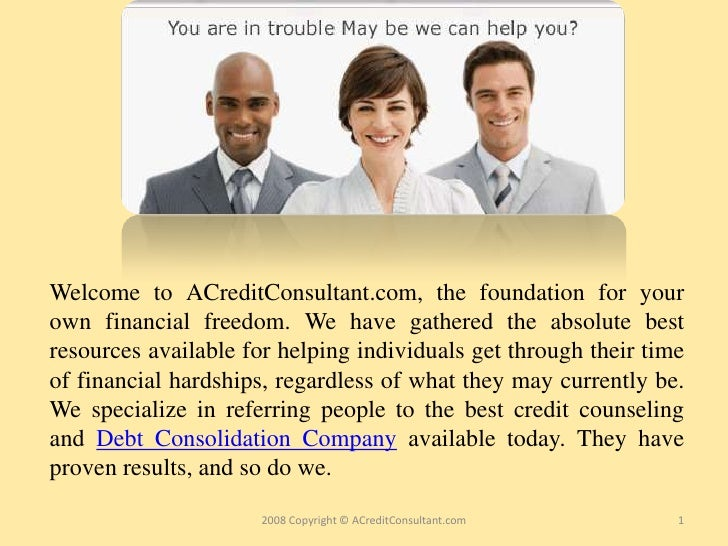 Welcome to ACreditConsultant.com, the foundation for your own financial freedom. We have gathered the absolute best resour...