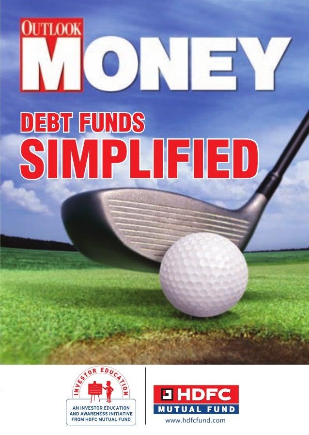 Debt funds simplified