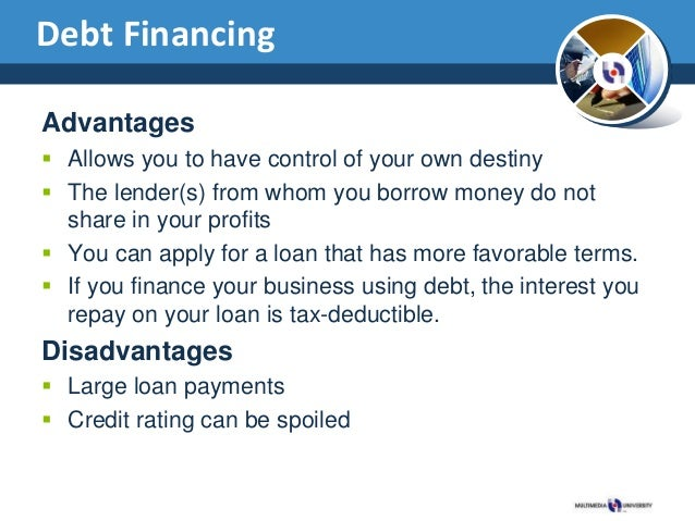Debt or equity financing