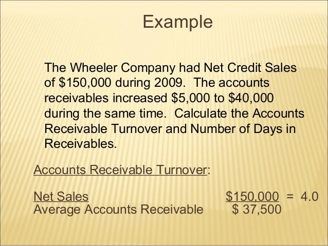 Debtors turnover ratio final