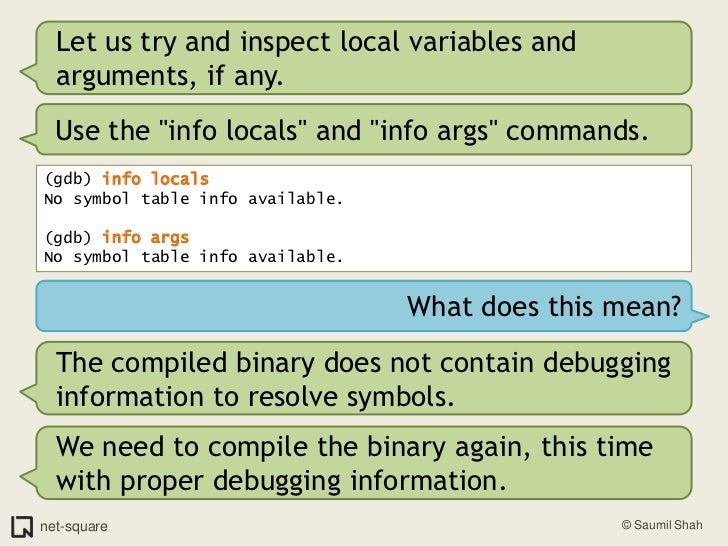 Introduction To Debuggers