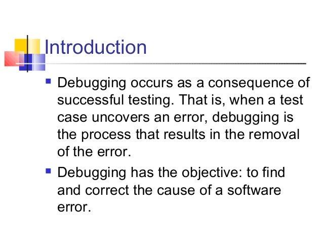 Debugging Slide 2