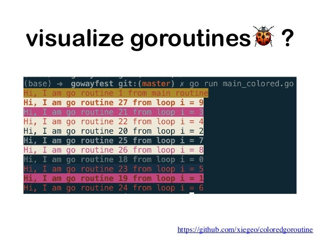 visualize goroutines🐞 ? https://divan.dev/posts/go_concurrency_visualize/