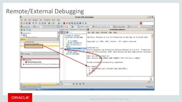 sql developer dbms_output