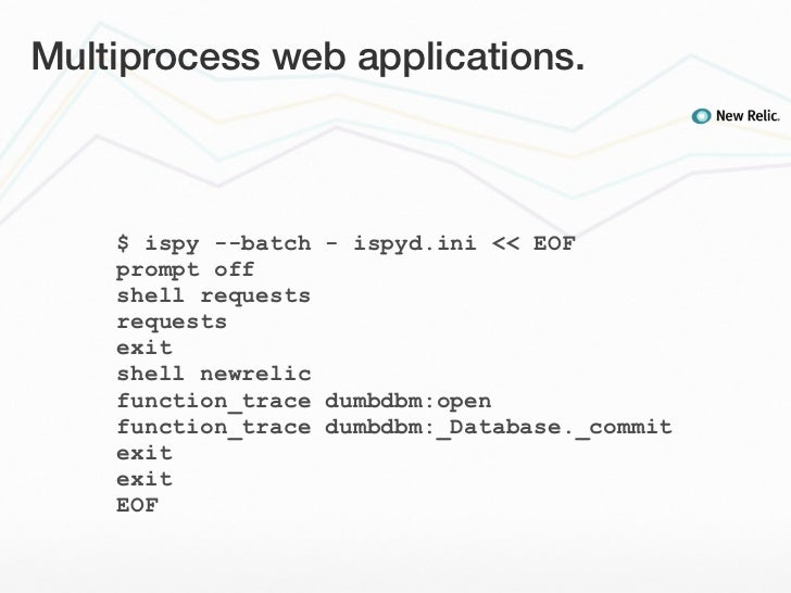 Multiprocess web applications  $ ispy