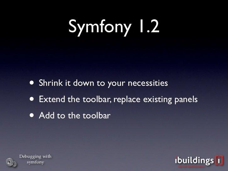 Debugging with symfony