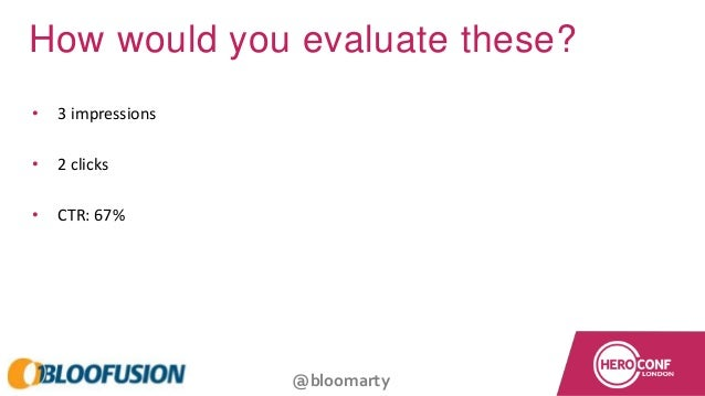 @bloomarty How would you evaluate these? • 3 impressions • 2 clicks • CTR: 67%