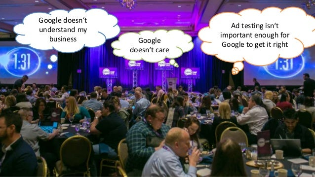 @bloomarty Google doesn't understand my business Google doesn't care Ad testing isn't important enough for Google to get i...