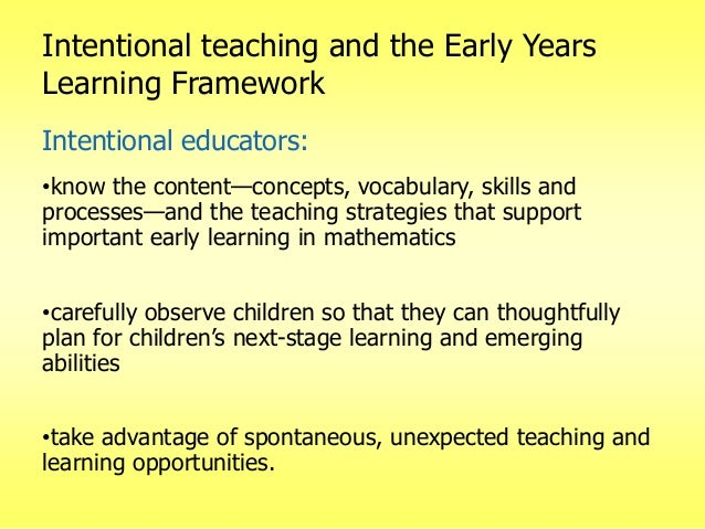 intentional teaching Chcece022 export summary to word export summary to pdf notify me of changes  24 create opportunities for learning through play and intentional teaching.