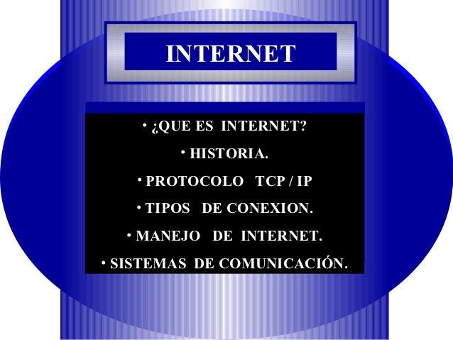 QUE ES INTERNET? RED MUNDIAL DE INFORMACION