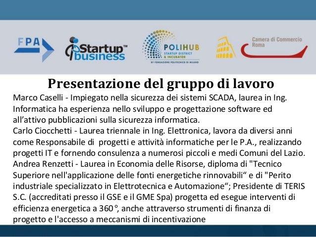 Marco Caselli - Impiegato nella sicurezza dei sistemi SCADA, laurea in Ing. Informatica ha esperienza nello sviluppo e pro...