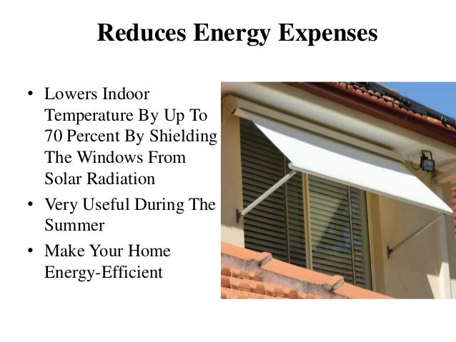 Classy Awnings To Keep Your House Cool During Summers