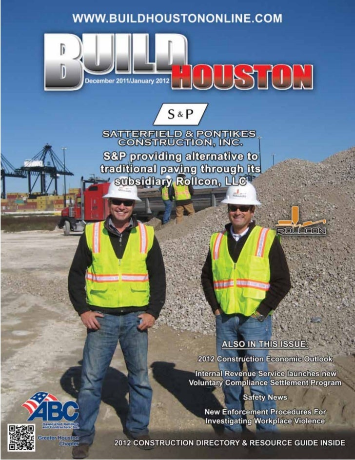 www.buildhoustononline.com   Build Houston Magazine • December 2011 / January 2012   •   1