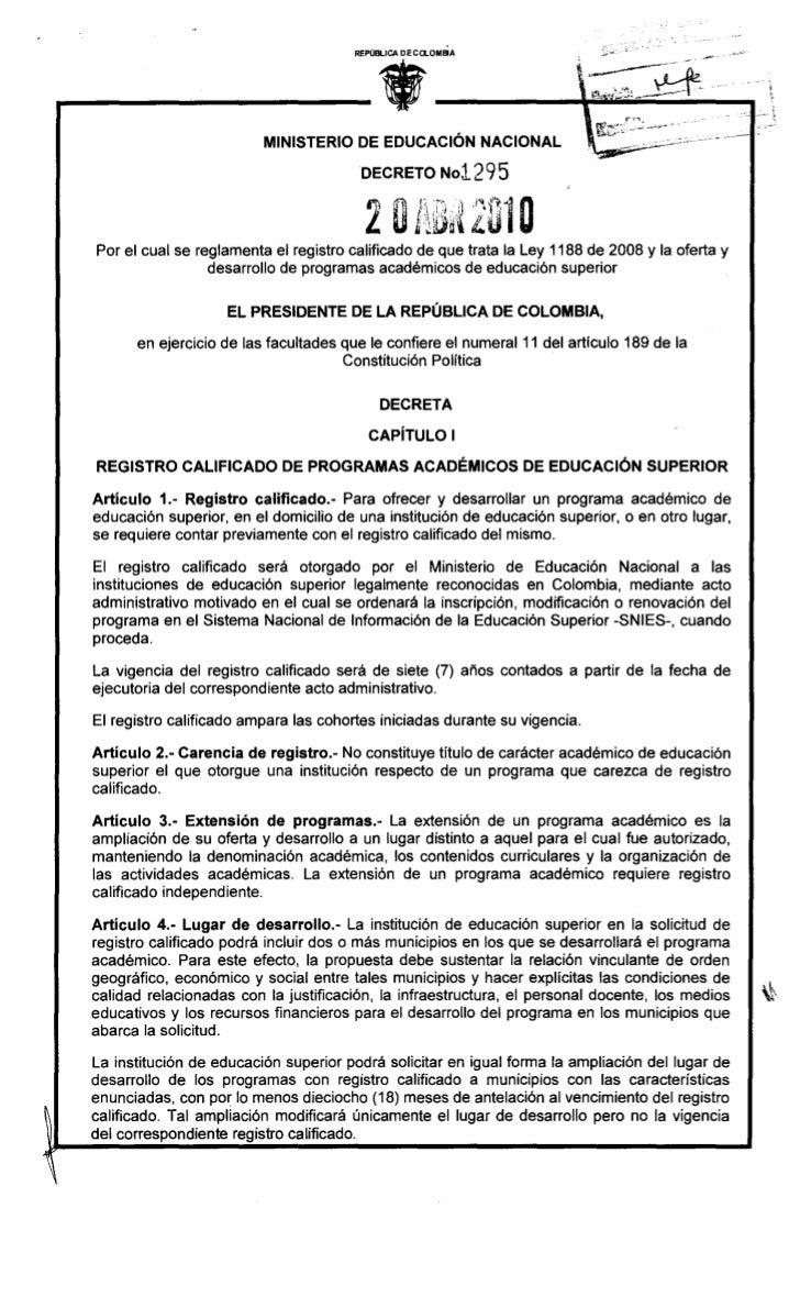 .                                           REPÚBLICA DECa.OMElA                             MINISTERIO DE EDUCACiÓN NACIO...