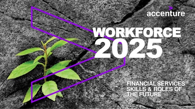 WORKFORCE FINANCIALSERVICES SKILLS & ROLES OF THE FUTURE