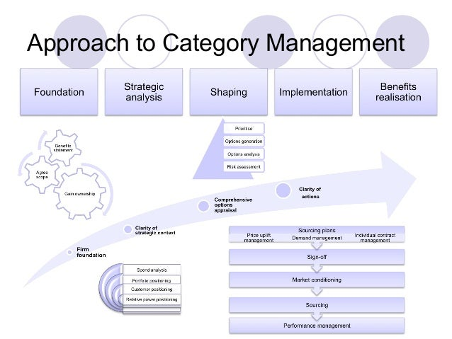 A view of procurement best practice for Procurement category strategy template