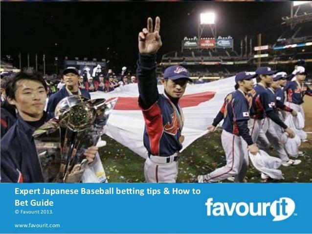 japanese baseball betting tips