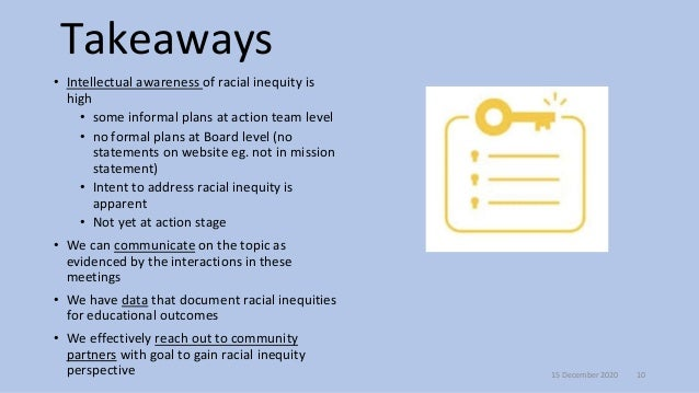 Potential actions and questions •Can we/should we increase diversity of Boards •Can we/should we adopt a mission that expl...