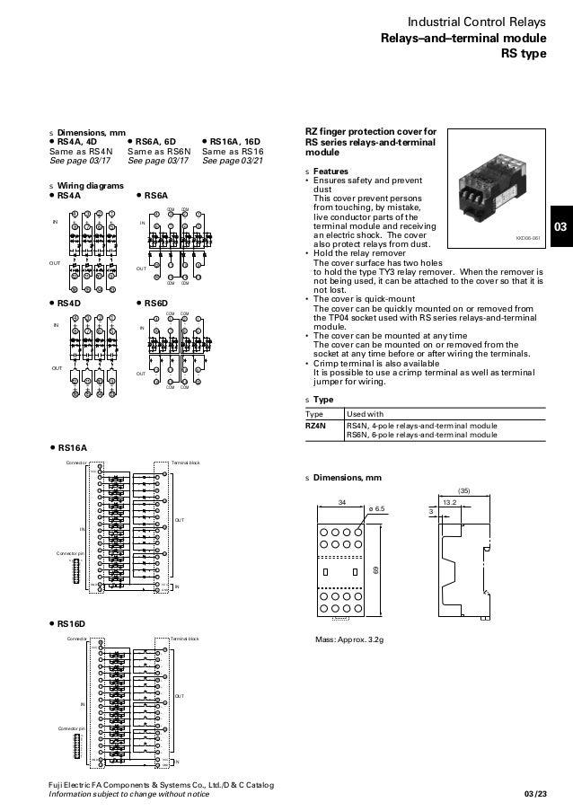 03 - Control Relays & Timer - Fuji Electric