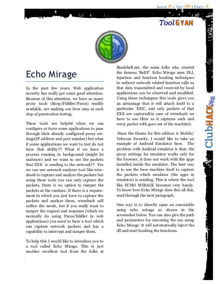 ClubHack Magazine – December 2011