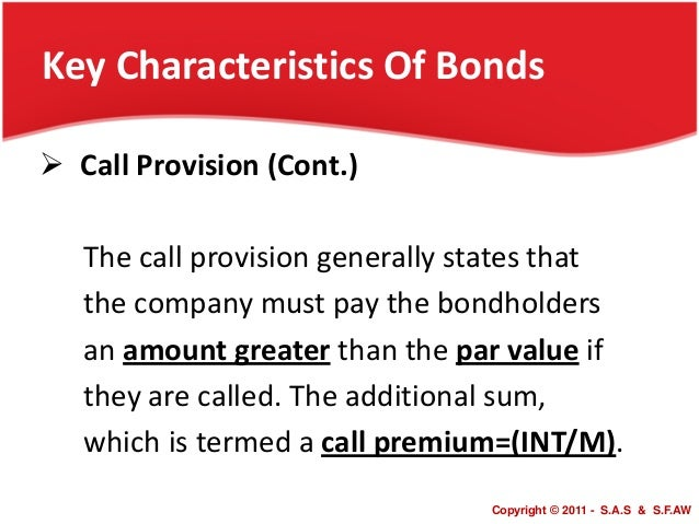 describe characteristics of fixed income and common stock securities Bonds have a number of characteristics of which you need to be aware  (we  will discuss what influences bond prices in the next section of this  if the interest  rate paid on a bond remains the same for the life of the security it is a fixed rate,   this brings up an important point: not all bonds are inherently safer than stocks.