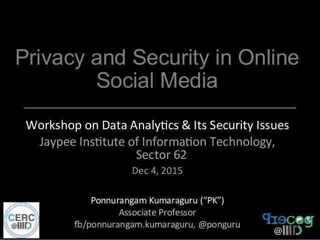 An analysis of internet privacy and its security