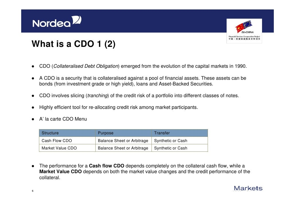 CDOs Are Back: Will They Lead to Another Financial Crisis?