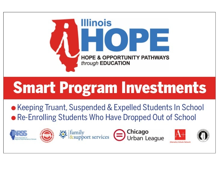 Smart Program InvestmentsG Keeping Truant, Suspended & Expelled Students In SchoolG Re-Enrolling Students Who Have Dropped...