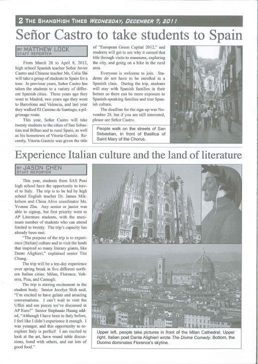 7 de diciembre de 2011 - The ShangHigh Times - Page 2