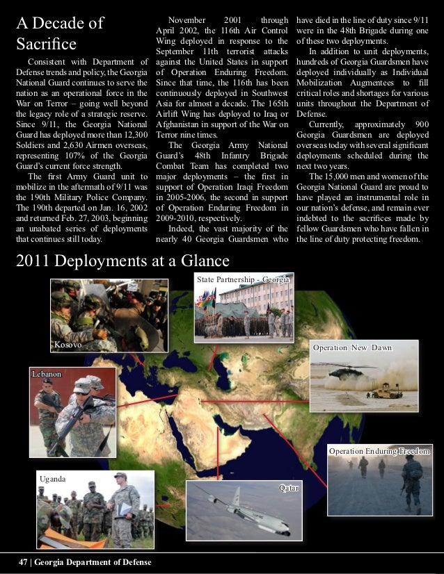 A Decade of                                  November        2001      through                                          Ap...
