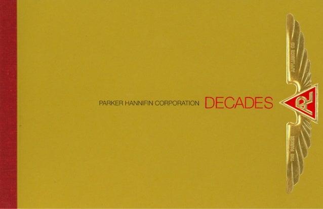 Parker Hannifin Decades History Brochure