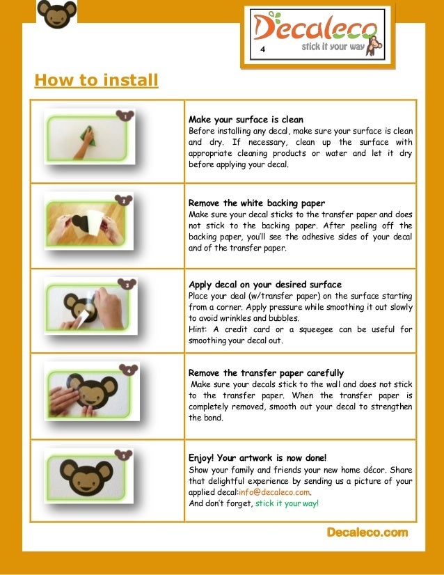 Gentil Decaleco.com; 4. 4 How To Install ...