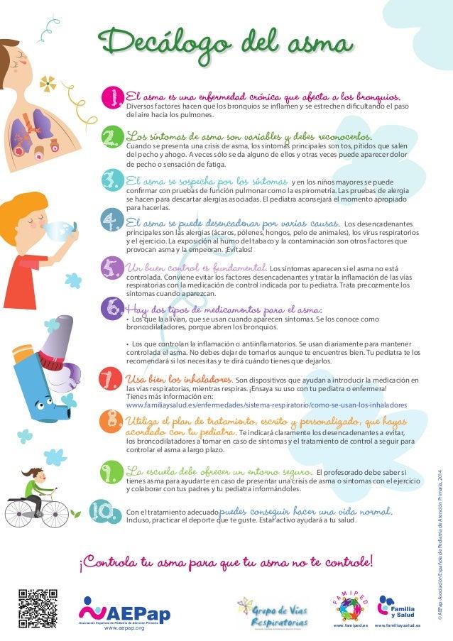 Todo sobre el asma