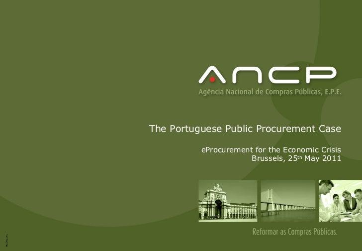 ePractice: eProcurement Workshop 25 May 2011 - Joana Lopes ...