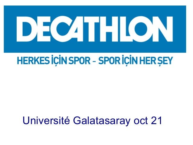 A SWOT ANALYSIS OF TURKISH MARKET  Université Galatasaray oct 21