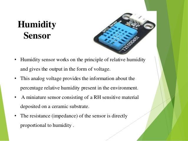 humidity sensor working principle pdf